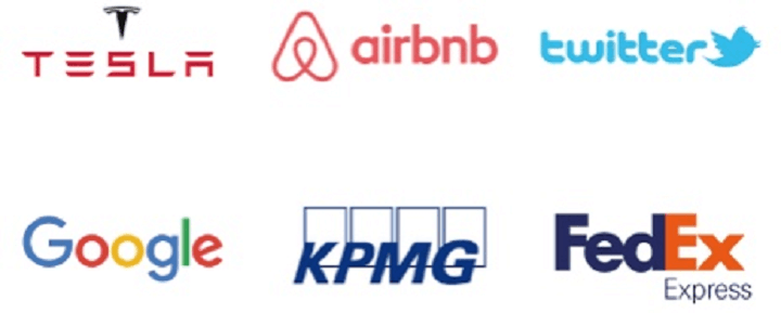 許多國際知名公司都是OANDA的企業客戶